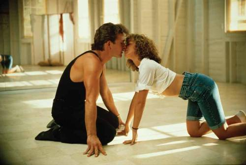onscreenkisses:  Dirty Dancing, dir. Emile Ardolino (1987)
