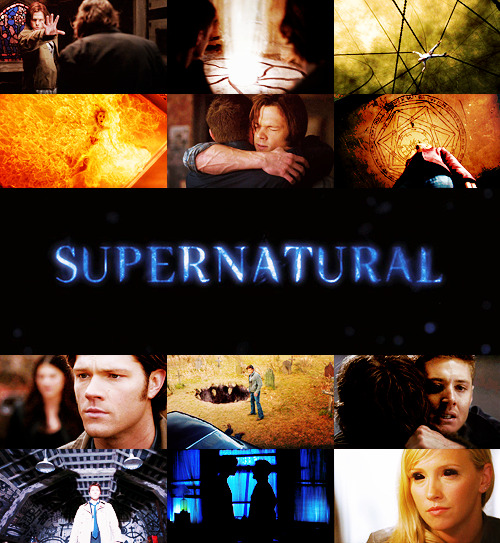 "TV Shows Challenge | 10 TV shows you love the most: Supernatural  ""Saving people, hunting things. The family bussines."""