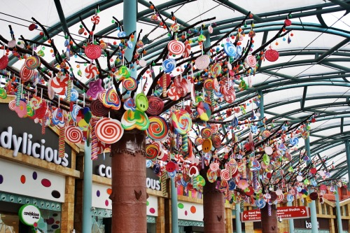 Candy Tree, how I wish you were true. Universal Studios Singapore.
