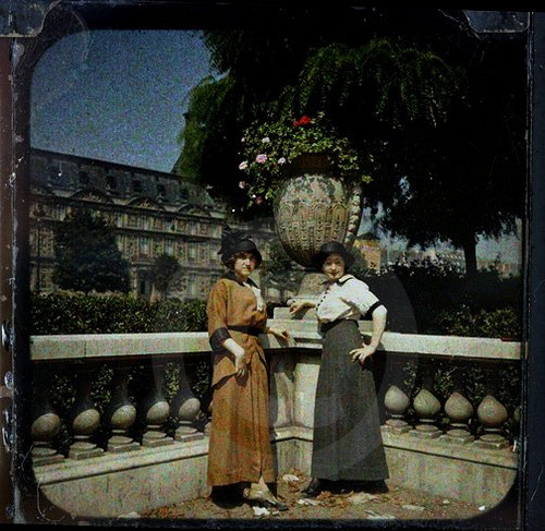 Autochrome, Paris, c.1909 via richard sullivan