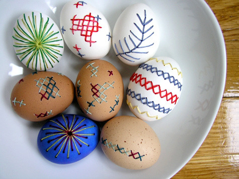 Learn how to Embroider Eggshells (via How-To: Embroider on Eggshells @Craftzine.com blog)
