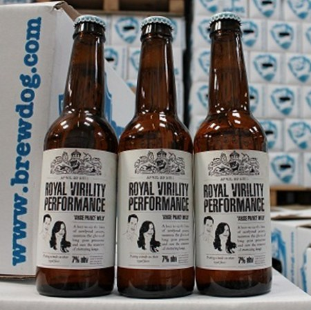 Brewdog Announces Beer for Boners The Royal Virility Performance pale ale is brewed with Viagra. Yep, Viagra. So you can actually follow through with your drunken mistakes. (via geekologie)
