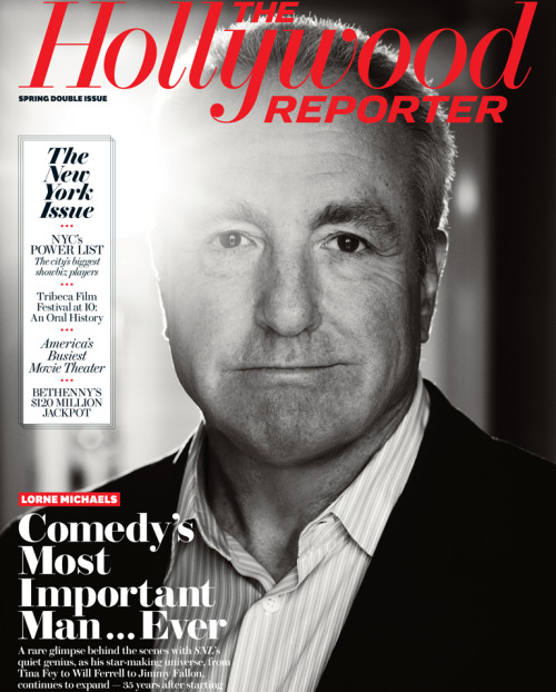 "Lorne Michaels covers this week's issue of The Hollywood Reporter and inside is an article entitled ""The Most Powerful Man In Comedy…Ever"" which saw a reporter hang around SNL for a week and detail Michaels' enormous influence on the world of comedy. Now, I'm not a subscriber to The Hollywood Reporter because I'm not, like, Scott Rudin or somebody. But if anybody is and wants to mail me some choice quotes, that would be awesome."