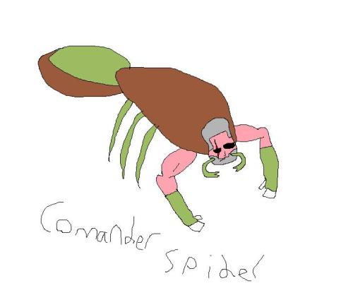 a really good soldier in the spider army