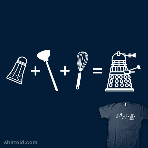 shirtoid:  Equation of Extermination! by Bamboota is on sale for a few more hours at Qwertee