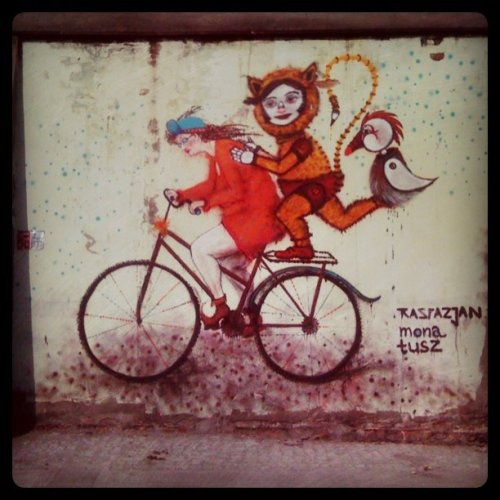 Some more street art from Katowice  (Taken with instagram)