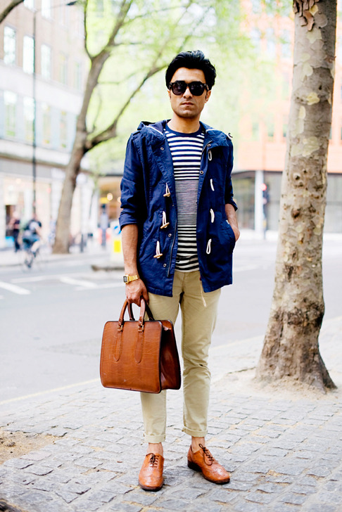 (via Street Style Aesthetic » Blog Archive » London – Utility Player)