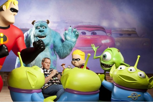 popculturebrain:  Pixar chief John Lasseter for The 2011 TIME 100 | TIME    » For more fun with animation technology, discover Trove's Pixar channel.