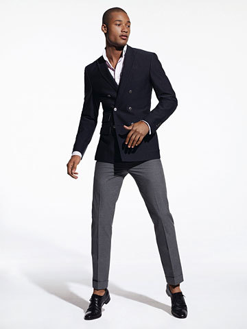 Slim Fit DB Blazer - not for the sartorially timid.