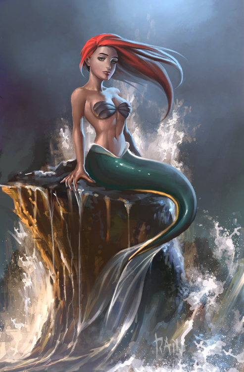 dotlikeme:  The Little Mermaid by Rain Beredo