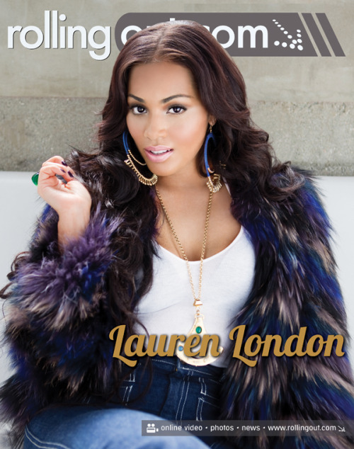 thelastflight2skyy:  Lauren London Rolling Out cover