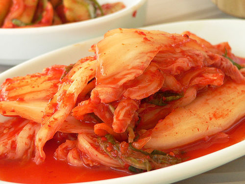 Kimchi, one of my favourite asian food, because the taste is very unique, it's addictive.