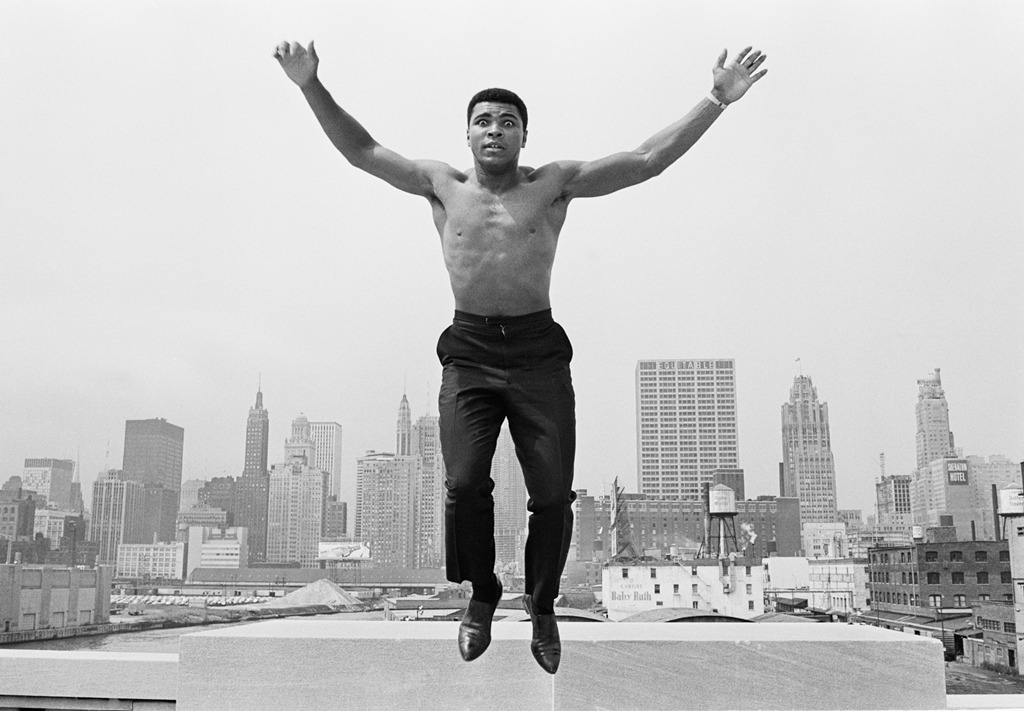 Thomas Hoepker Muhammad Ali, Chicago, 1966