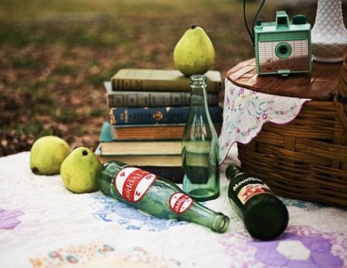 romance-is-not-dead: Click for more picnic inspiration.