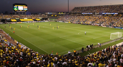 soccerandlulz:  Columbus Crew Stadium, first soccer exclusive stadium in the Untied States.