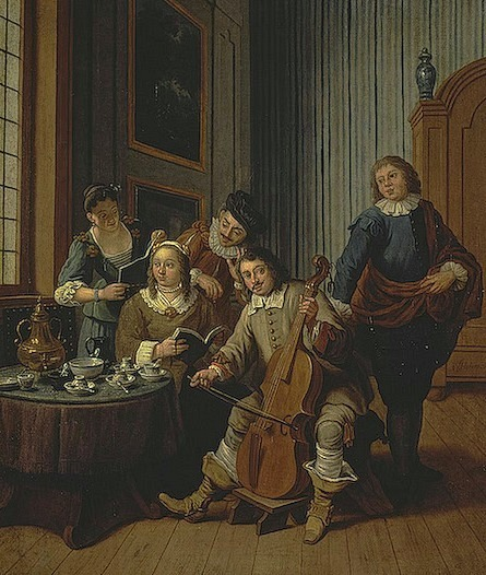 Jan Josephs Horemans Singing Lessons 1750-59
