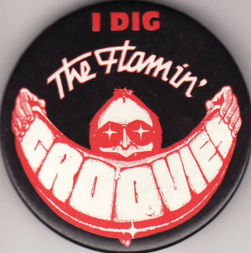 The Flaming Groovies button
