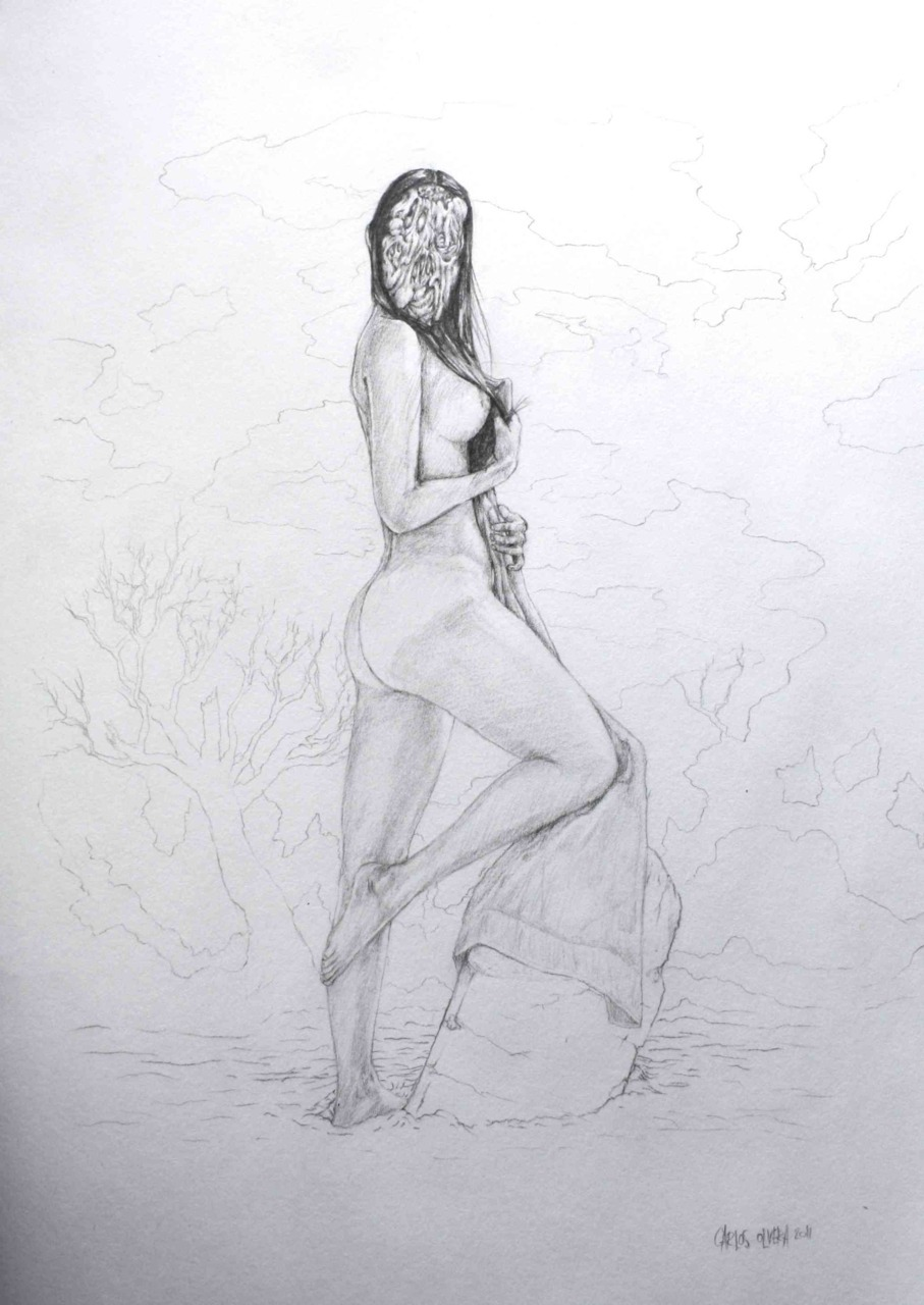 © carlos olvera 2011 graphite on paper