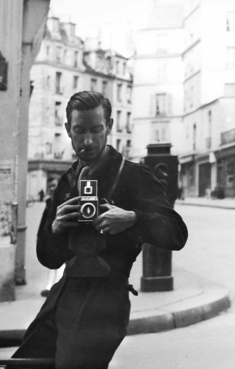 theconstantbuzz:  Pierre Jahan self portrait.