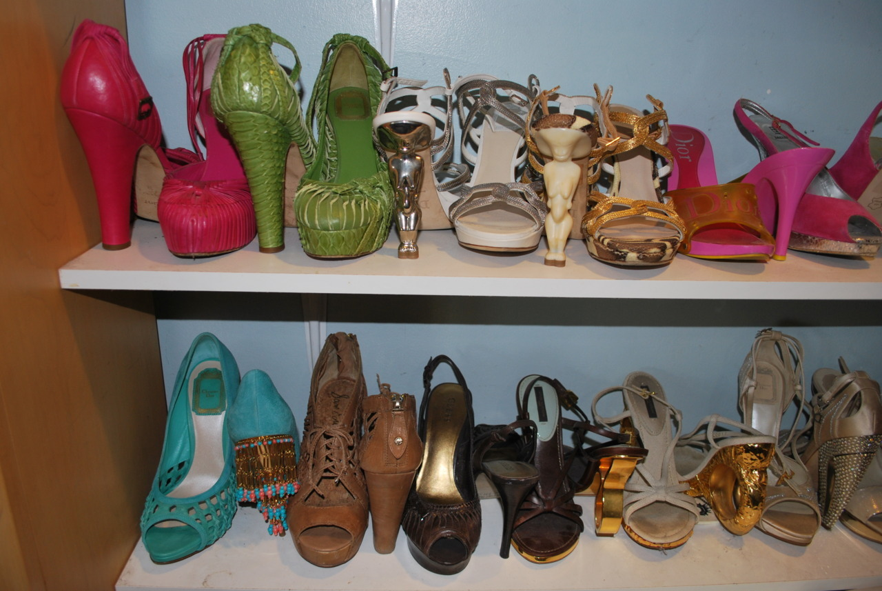 penzerparty:  some of my shoes