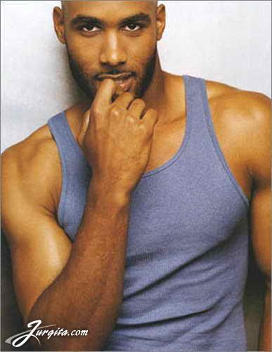 Boris Kodjoe, best known as Steven Bloom on Undercovers.