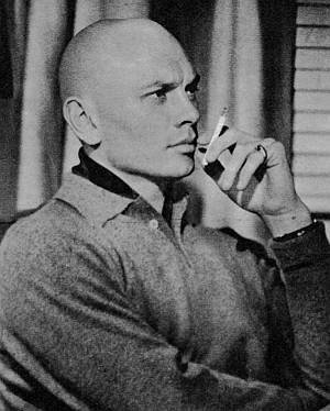 Pensive Brynner. Perfect profile.
