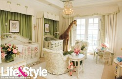 Marah Carey and Nick Cannon's nursery for their twins !