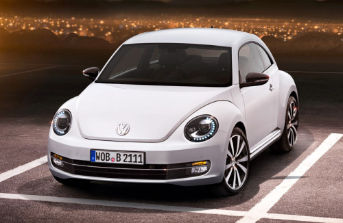 The 2012 Beetle by Volkswagen (via)