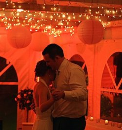 So impatient for our pro pics! Love this first dance picture a friend took though.