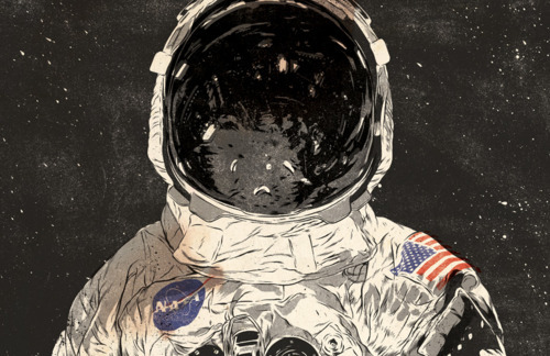 astronaut space background drawing - photo #27