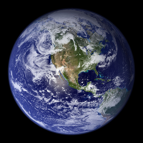 NASA Blue Marble (by NASA Goddard Photo and Video)
