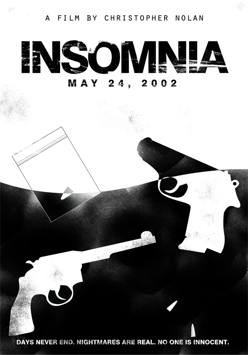 Insomnia (2002)Christopher Nolan's Films in Black & White Poster Set ( 3 of 8 )Buy Print   |   By Edson Muzada
