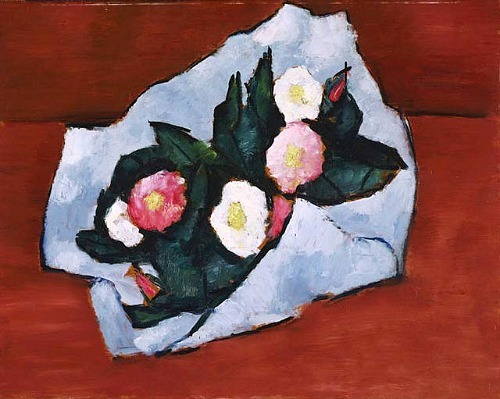 Marsden Hartley Wild Roses 1942