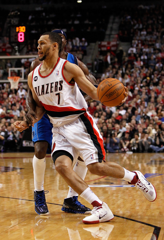 Weirdest Beard Of The Night - Brandon Roy of the Portland Trailblazers That's a weird beard, man. Photo by Jonathan Ferrey/Getty Images