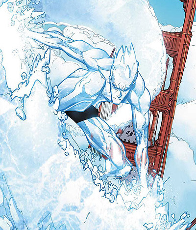 My Favourite Superheroes - #3 Iceman (X-men)