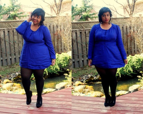 Fashion Friday: Blue Belle. [Outfit Details] Today was rather uneventful, to be honest. My cousin and her family came over and I got overly dressed up for the occassion, haha. I pulled out this dress I purchased a few months ago, and it was super wrinkly…obviously I was too lazy to iron it. Have an awesome long weekend! <3