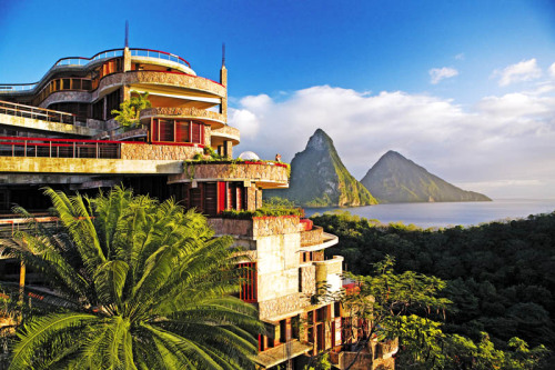 Jade Mountain, St. Lucia Only in my dreams :)
