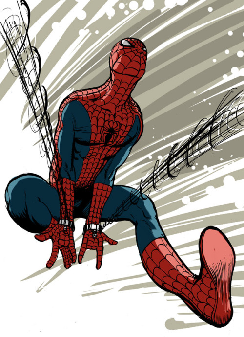Spider-man by Simon Fraser