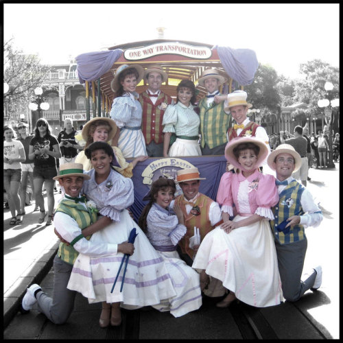 Trolley Performers - Walt Disney World