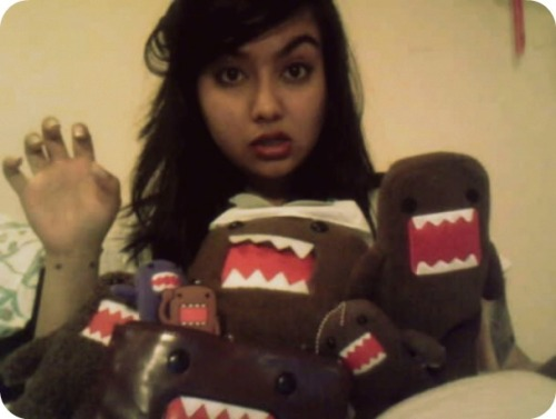 Rawr…  I just might have a slight obsession with Domo.
