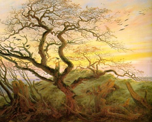 """The Tree of Crows"" by Caspar David Friedrich"