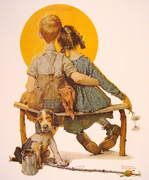 spaceshiprocket:  Norman Rockwell.