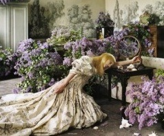 Tim Walker, lilac room glenham hall, suffolk, england 2006