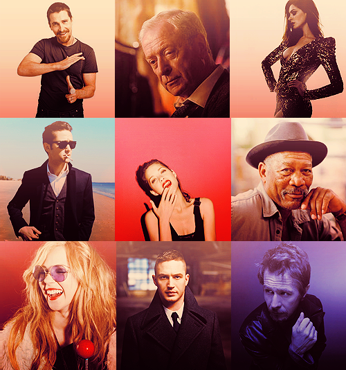 The Cast of: The Dark Knight Rises (2012)