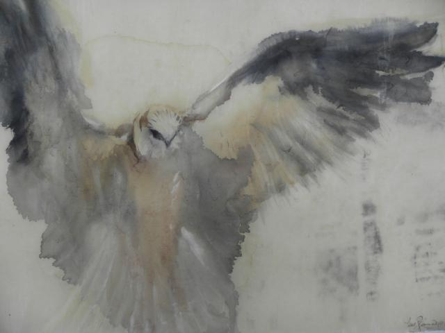 artpropelled: White Kite (detail) by Jane Rosen
