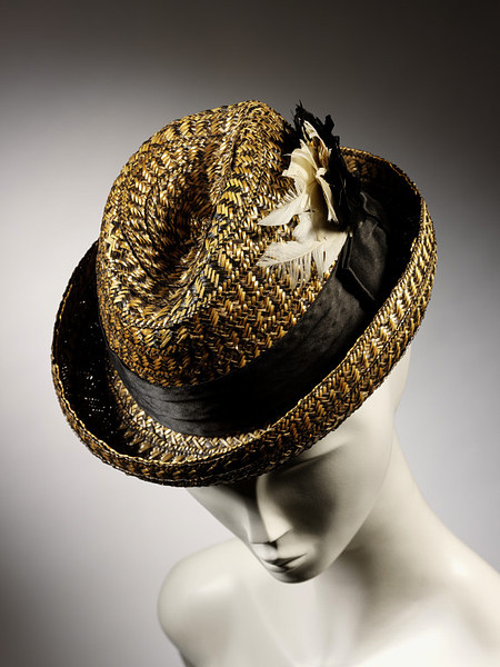 Cycling hat ca. 1898 via The Victoria & Albert Museum