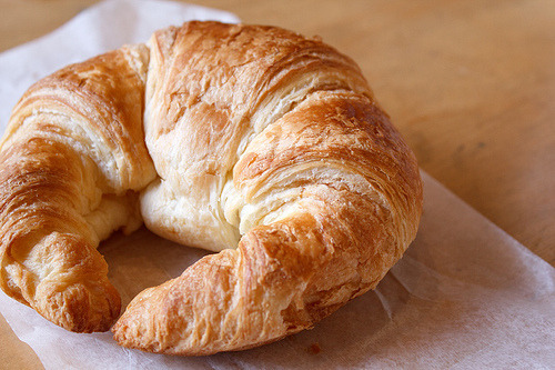 dailysprinkles: Left my croissant back in Paris.