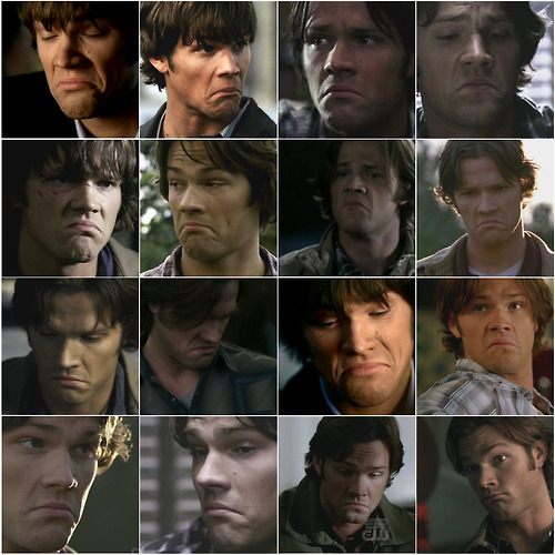 Jared Padalecki is not impressed.