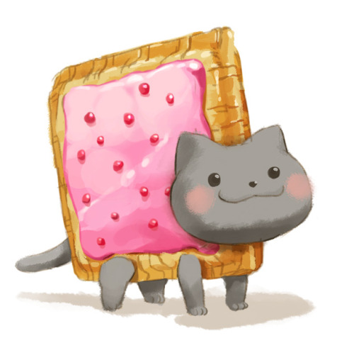 NYAN Cat art!! (or poptart cat :P)