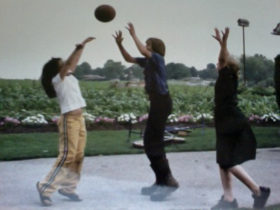 capriciousteens:  ballin' as a kid against my Amish friends. nbd.